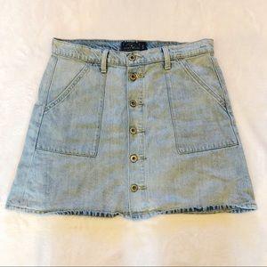 Lucky Brand | Denim Button Up Skirt Sz 10